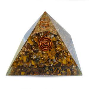 Tigers Eye Orgone Pyramid